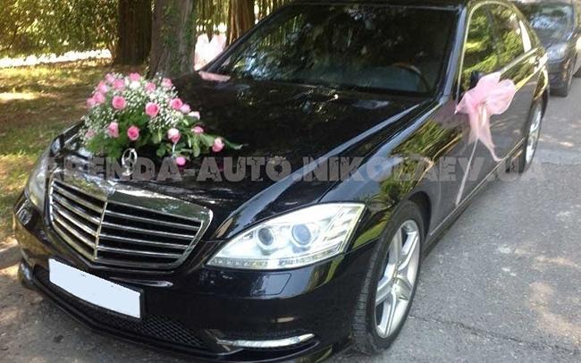 Аренда Mercedes S-Class W221 на свадьбу Николаев
