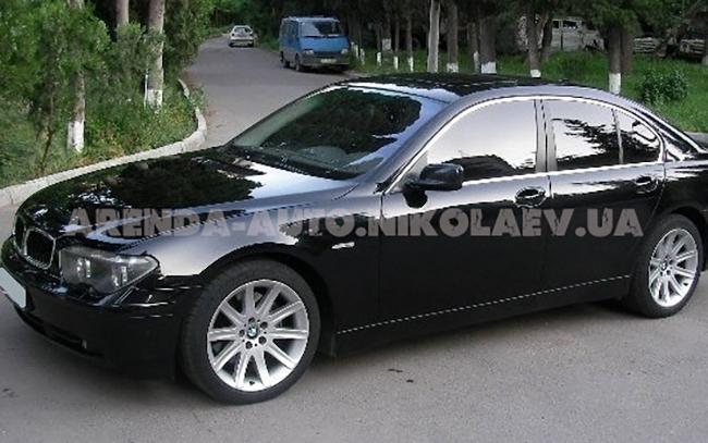 Аренда BMW 7 на свадьбу Николаев