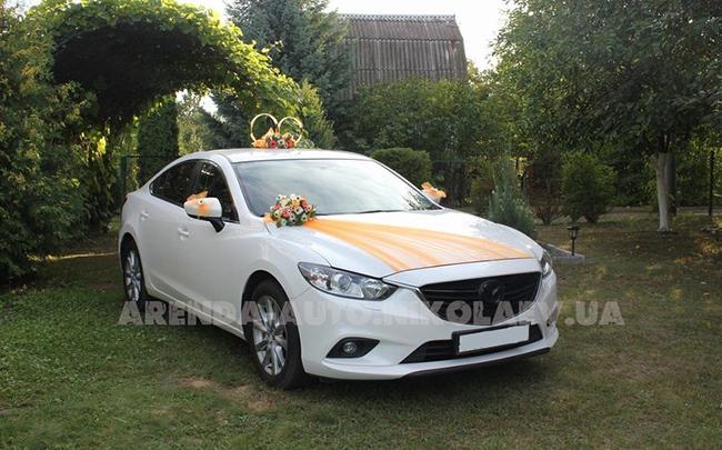 Аренда Mazda 6 New на свадьбу Николаев