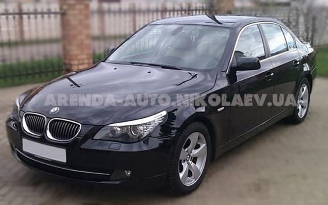Аренда BMW 5 на свадьбу Николаев