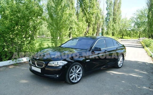 Аренда BMW 5 F10 на свадьбу Николаев