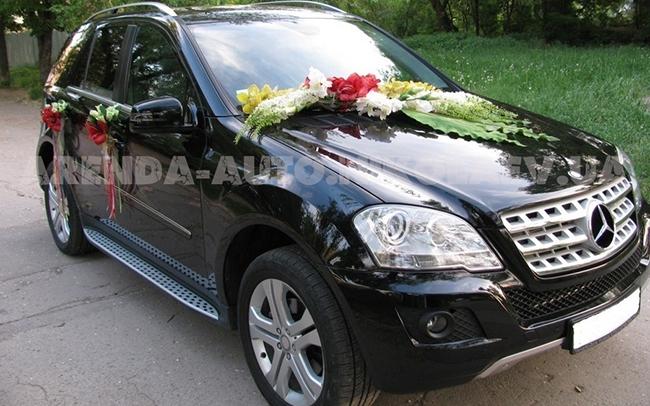 Аренда Mercedes ML на свадьбу Николаев
