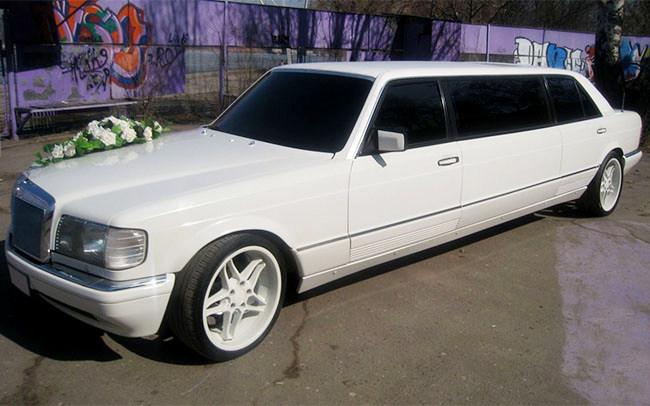 Аренда Лимузин Mercedes W126 на свадьбу Николаев