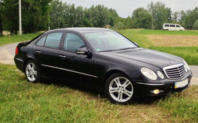 Аренда Mercedes E-Class W211 на свадьбу Николаев