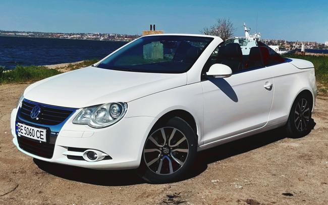 Аренда Кабриолет Volkswagen EOS на свадьбу Николаев