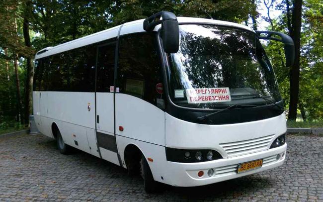 Аренда Автобус Toyota Caetano на свадьбу Николаев