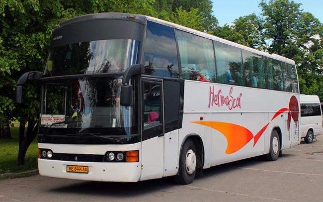 Аренда Автобус Renault Noge Etna на свадьбу Николаев