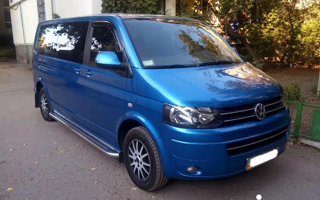 Аренда Микроавтобус Volkswagen Caravelle на свадьбу Николаев